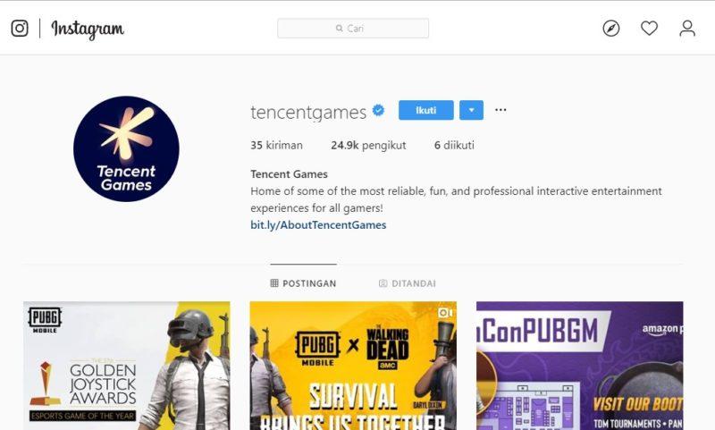Logo Baru Tencent Games