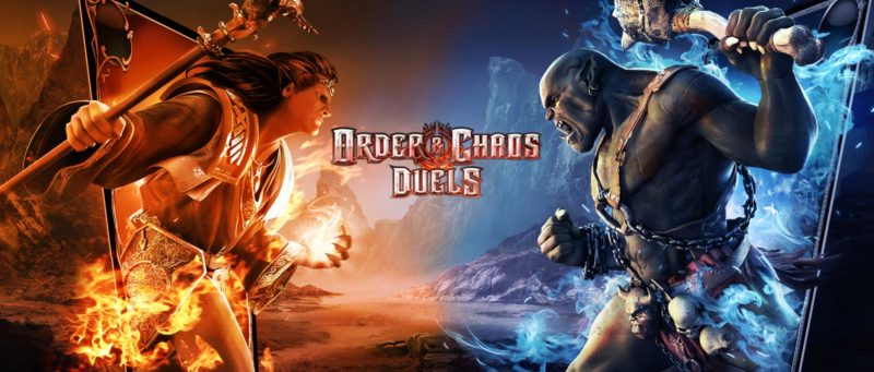 game gameloft Order And Chaos Duels