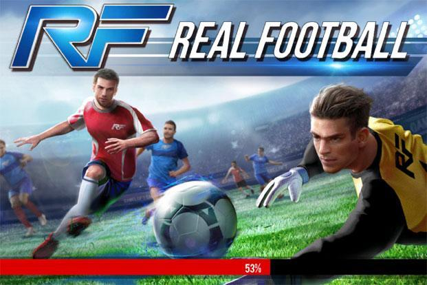 game gameloft Real Football