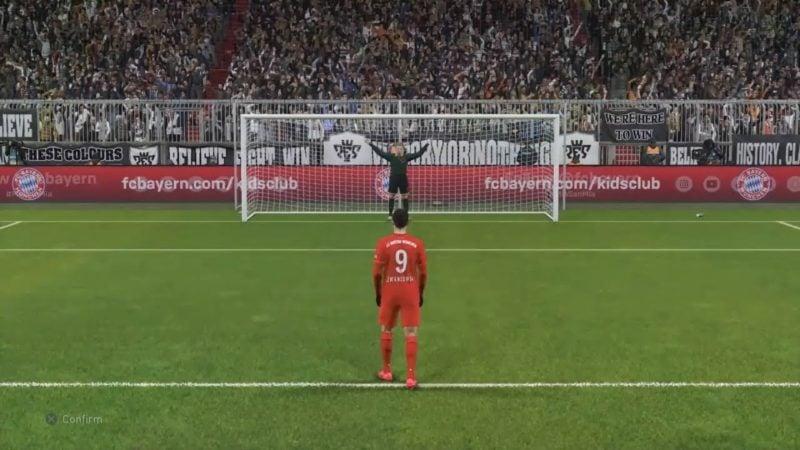 penalti shot