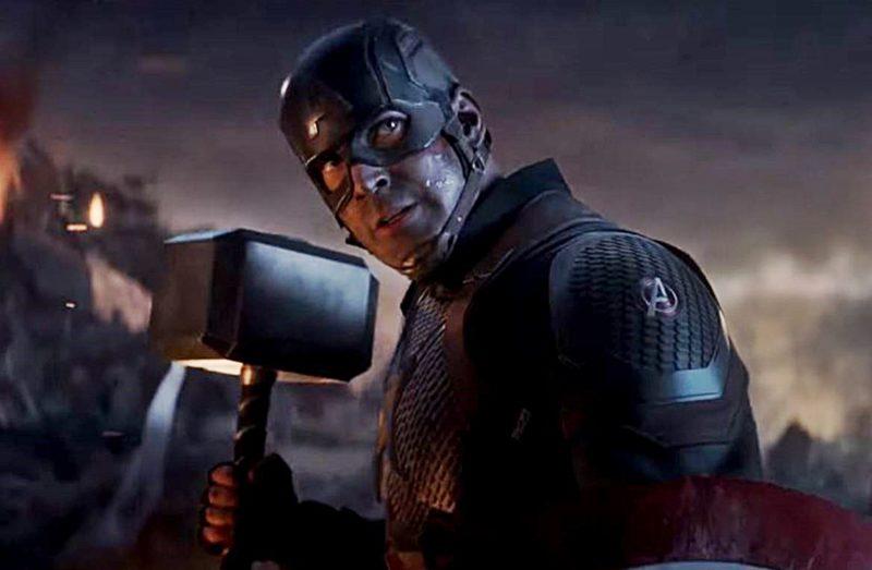 Avengers Endgame Captain America Mjolnir