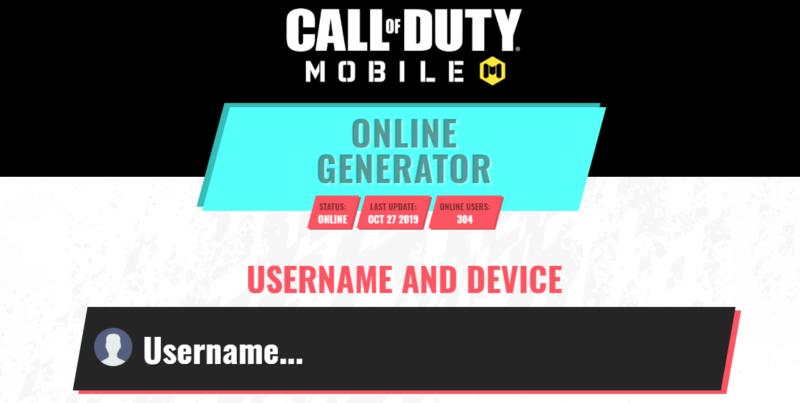 Cod Mobile Generator Online