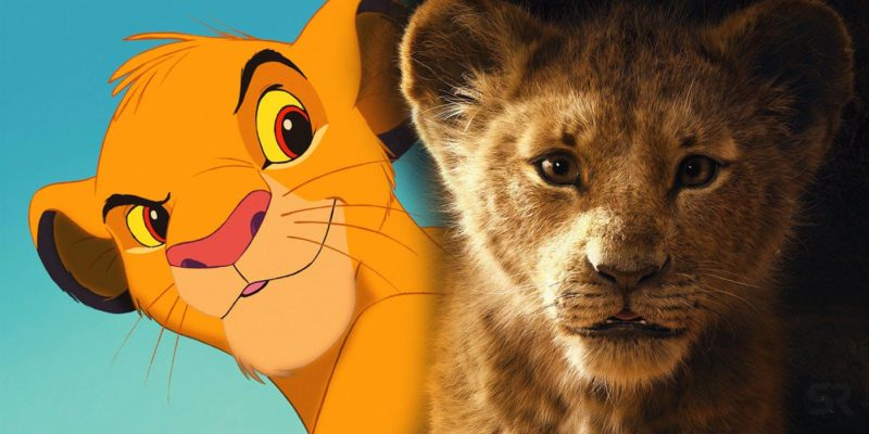 Lion King Original Vs Remake