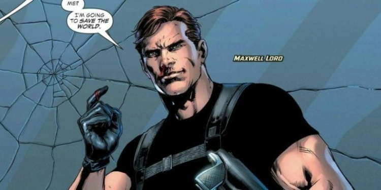 Maxwell Lord dc comics