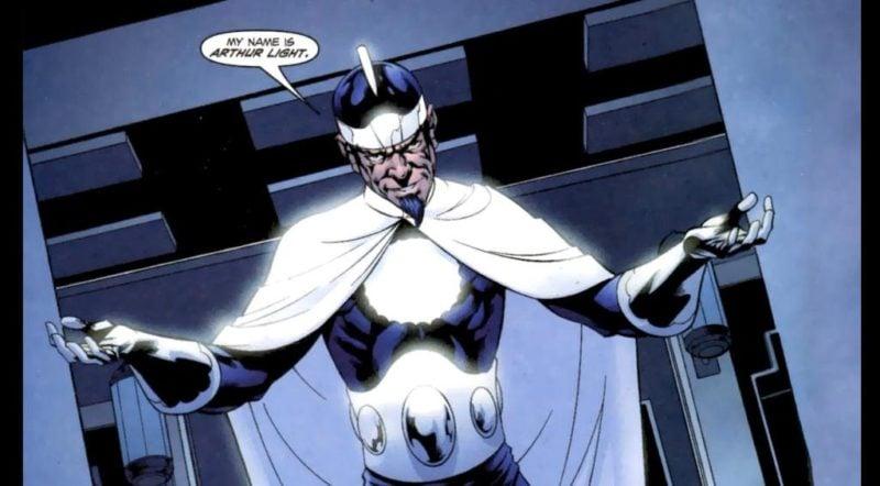 Musuh Justice League Dr Light