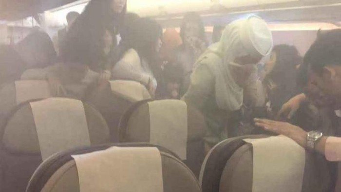 Ponsel Meledak Di Pesawat