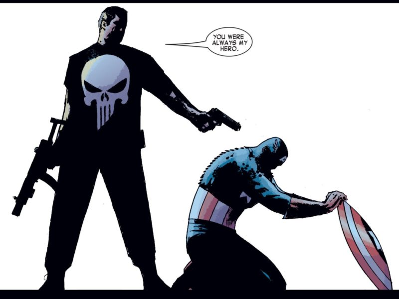 Punisher Bunuh Captain America