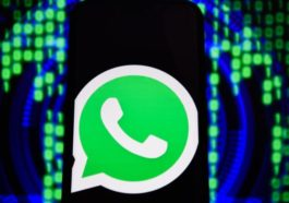 WhatsApp Logo Is Seen On An Android Mobile Phone