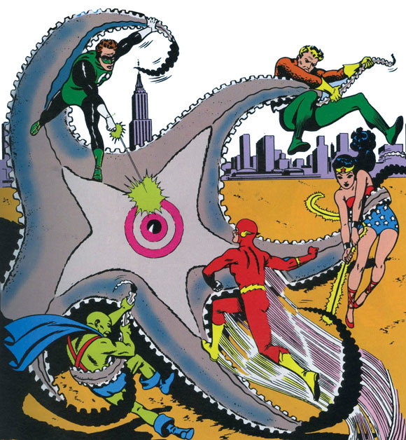 Starro Musuh Justice League