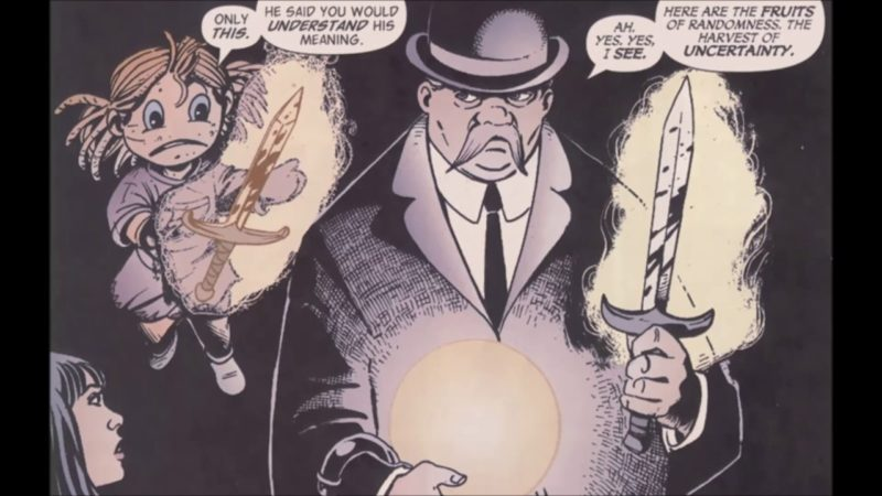 The Presence Dc Comics