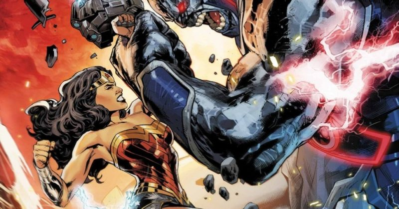Wonder Woman Vs Darkseid