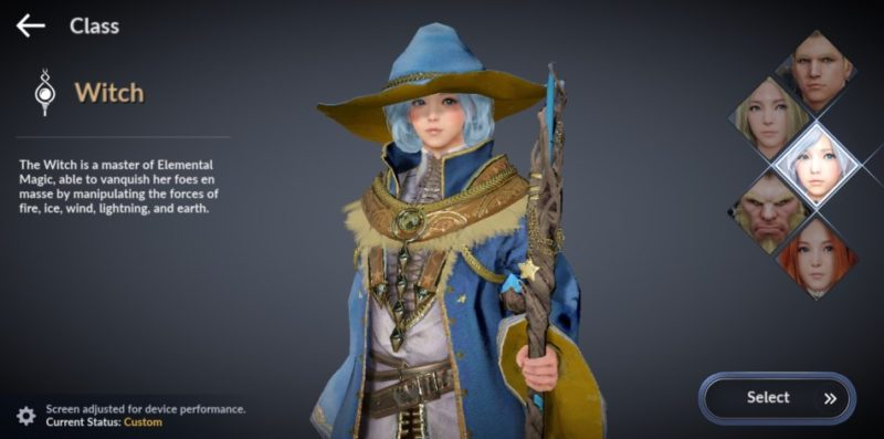 Class Witch Black Desert Mobile