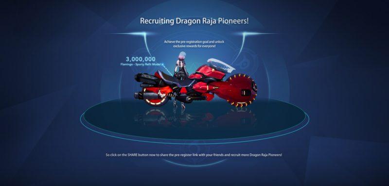 Dragon Raja Reward