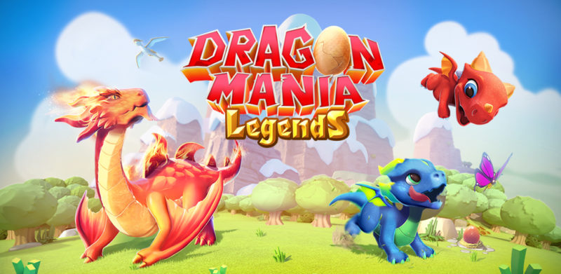 Game Kasual Dragon Mania Legends
