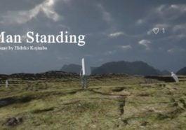 Game Parodi Man Standing