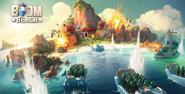Game Strategi Android Terbaik Boom Beach