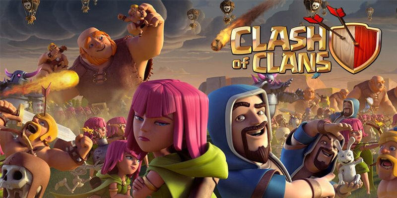 Game Terbaik Supercell Clash Of Clans