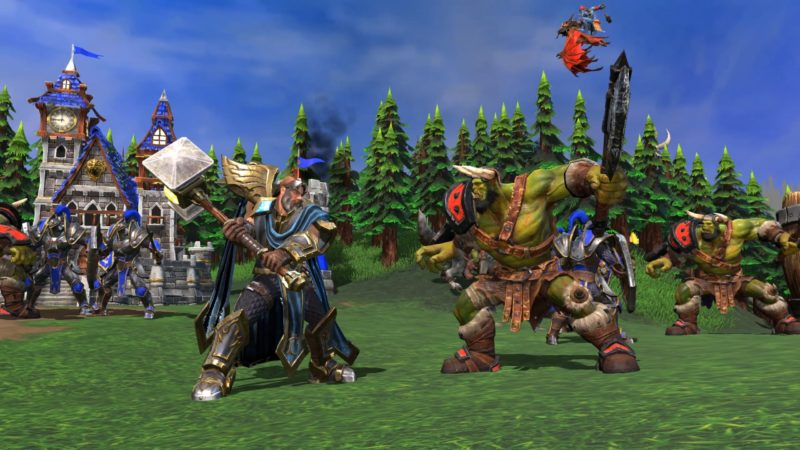 Warcraft III Reforged Human Vs Orc.