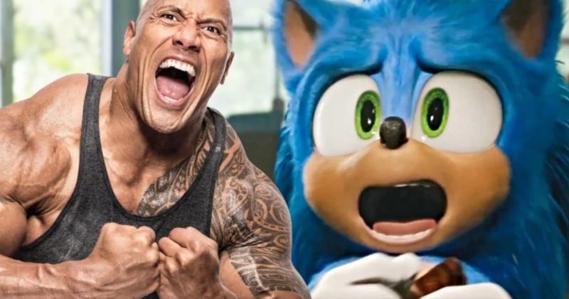 Cameo The Rock Sonic The Hedgehog