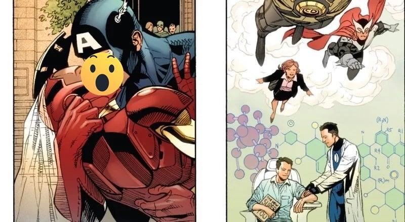 Captain America Iron Man Nikah