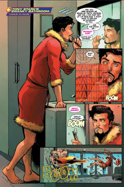 Captain Marvel Vs Iron Man
