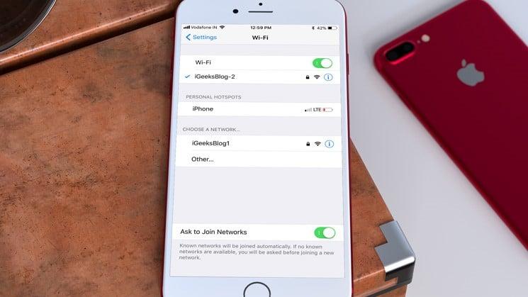 Cara Mengatasi Wifi Terputus Saat Iphone Terkunci