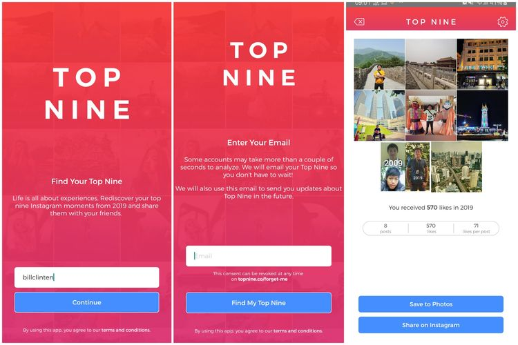 Membuat Best Nine Instagram 2019