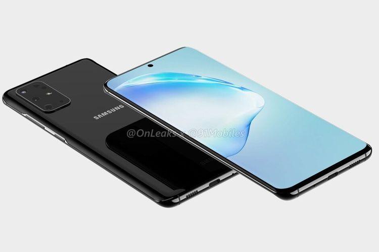 Render Samsung Galaxy S20