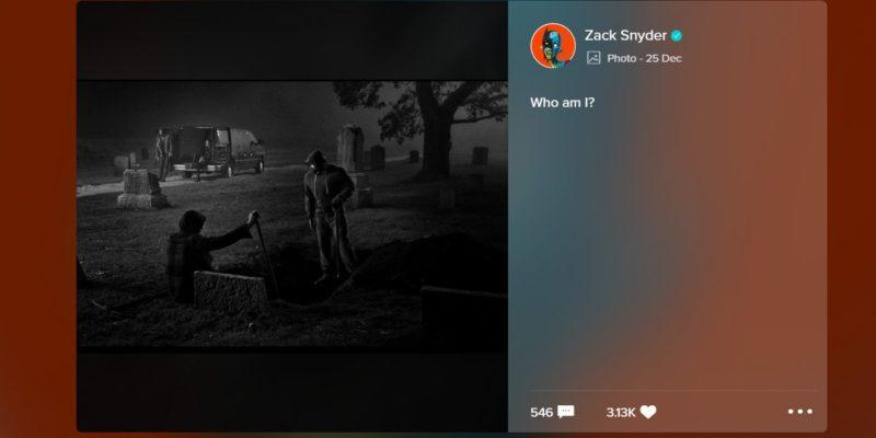 Snyder Cut Kubur Superman