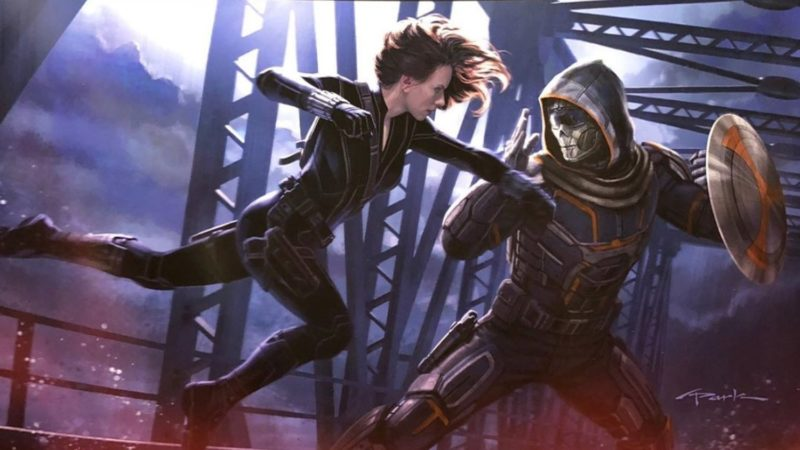 Taskmaster Black Widow