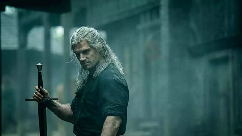 The Witcher Monster Fight Terbaik Henry Cavill
