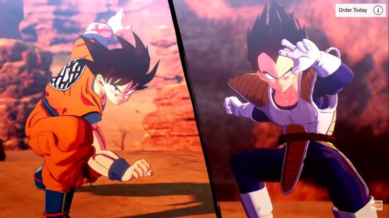 Goku VS Vegeta DBZ Kakarot