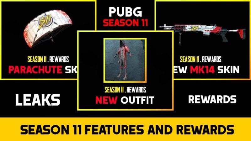 PUBG Mobile Season 11 Leaks And Rewards Min