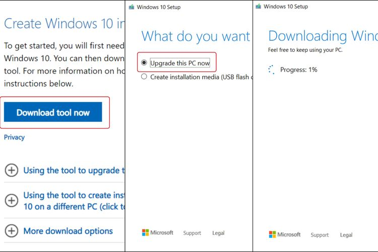 Cara Upgrade Windows 7 Ke Windows 10