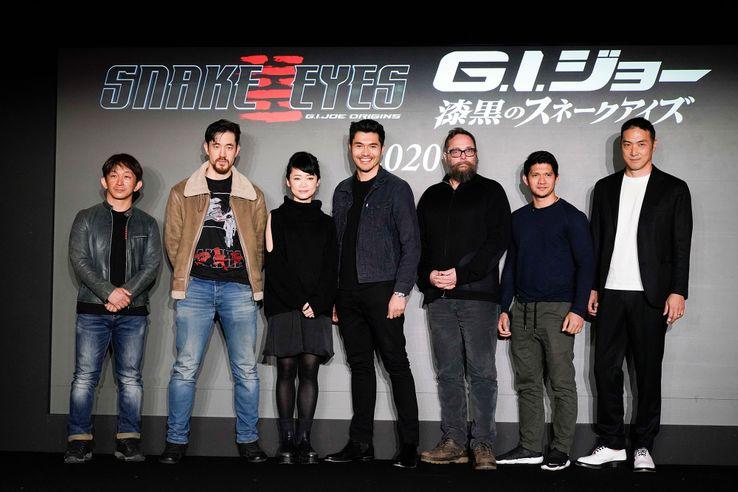 Gi Joe Snake Eyes Cast Photo 3