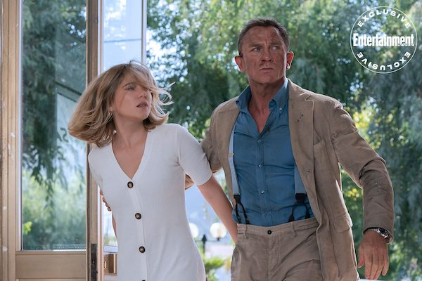 No Time To Die Lea Seydoux Daniel Craig