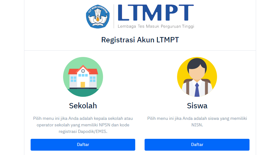 Registrasi Ltmpt