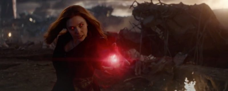 Scarlet Witch Avengers Endgame
