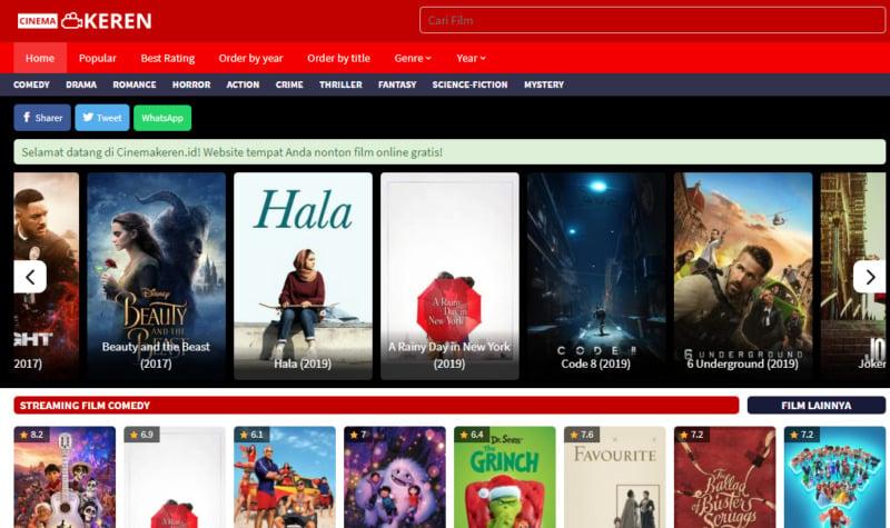 Situs Download Film Terbaik Dan Terlengkap 2020