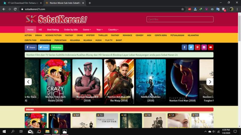 Situs Download Film Terlengkap 2020