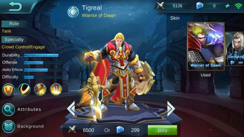 Tigreal Mobile Legends Min
