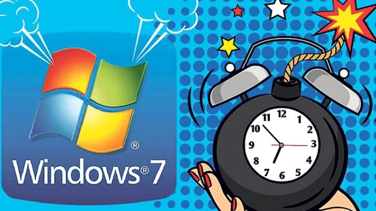 Update Windows 7 Dihentikan