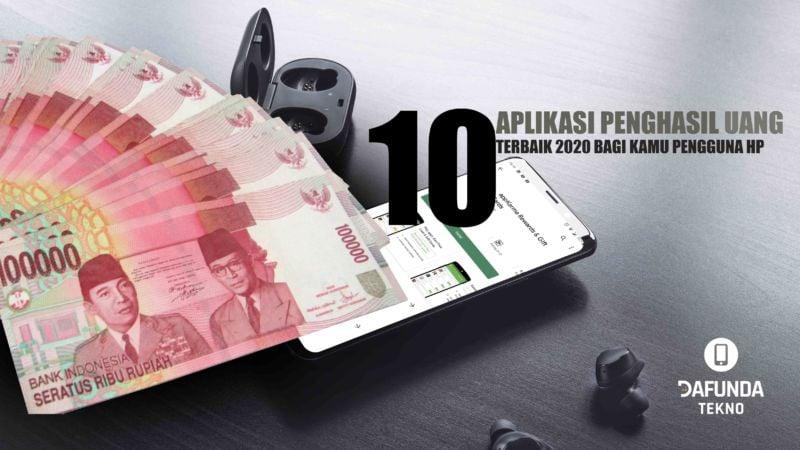 10 Aplikasi Penghasil Uang Terbaik 2020 Cuma Modal Hp Dafunda Com