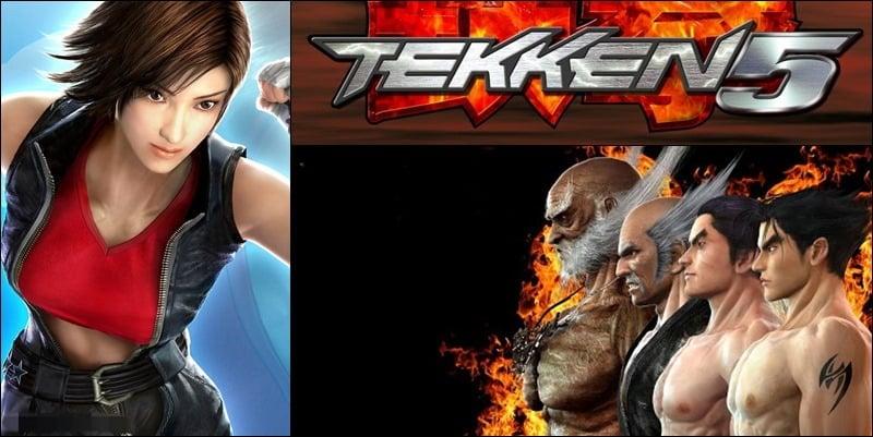 Cara Membuka Semua Karakter Tekken 5 PS2