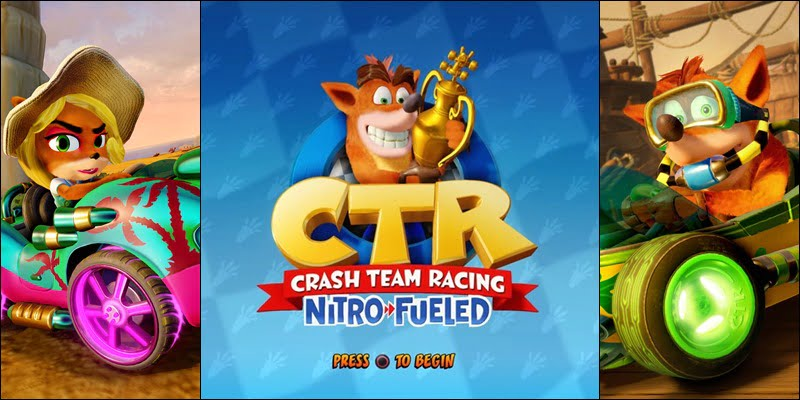 Cheat CTR Nitro Fueled PS4, Nintendo Switch Dan Xbox One Lengkap Bahasa Indonesia