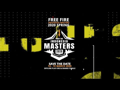 Free Fire Indonesia Masters 2020