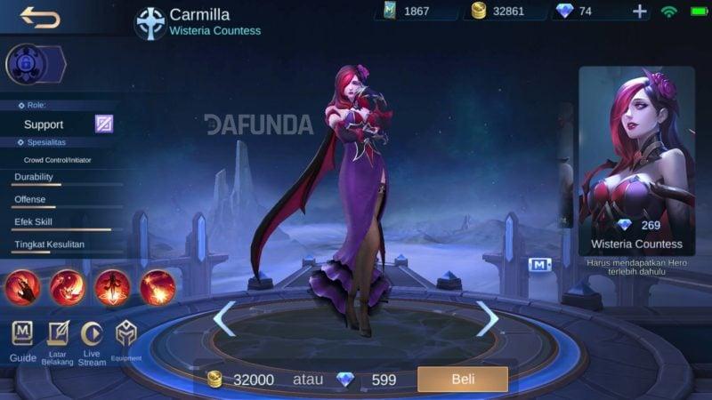 Hero Carmilla 1
