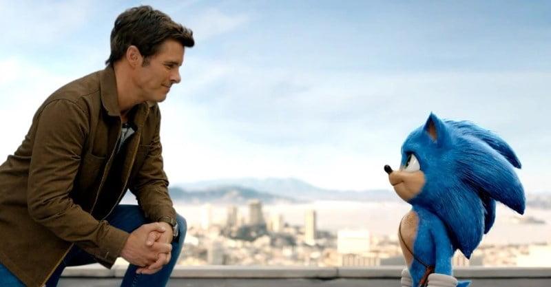 Sonic the Hedgehog keuntungan akhir pekan