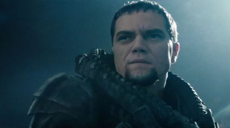 Man Of Steel Trailer Images Michael Shannon As General Zod