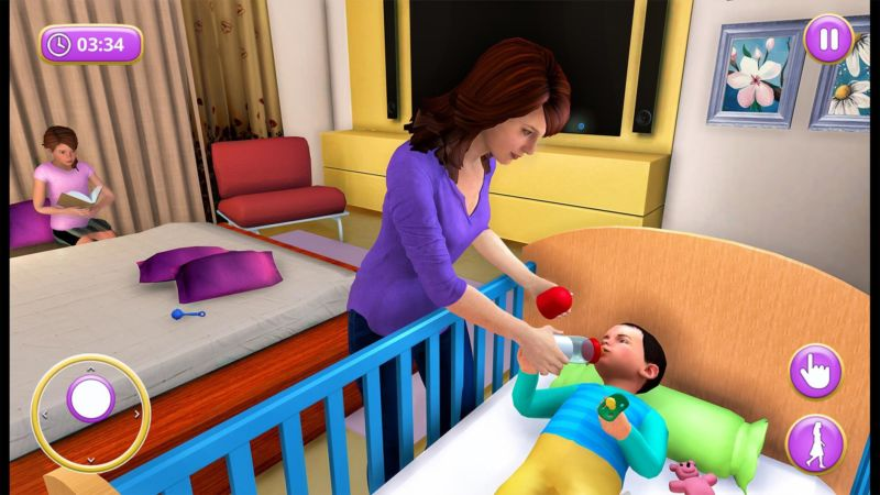 Mother Life Simulator Game